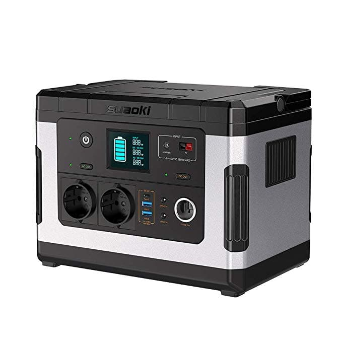 suaoki g500 bateria solar portatil