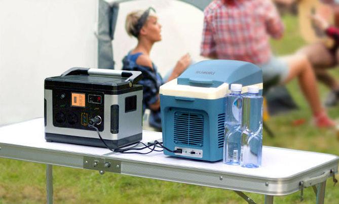 nevera suaoki y generador solar