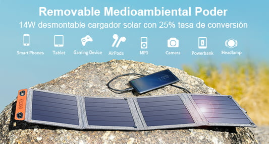 Cargador solar
