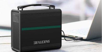 Generador electrico solar portatil beaudens 166wh b-1502