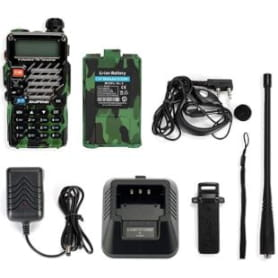 walkie talkie profesional multi frecuencias. walkie talkie con y sin licencia.
