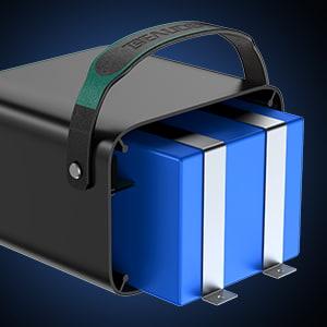 bateias internas del generador solar portatil beaudens 240 wh