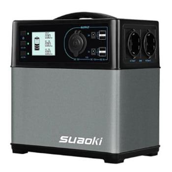 Suaoki 400wh, el generador solar más vendido.