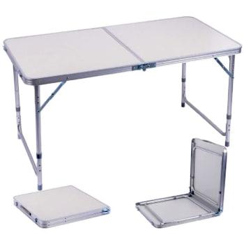 mesa maleta portatil plegable ideal pera furgonetas y acampadas.