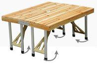 mesa plegable de viaje perfecta para acampar