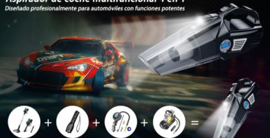 Aspiradores portátiles de mano para el coche