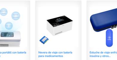 mini nevera para insulina con batería de litio