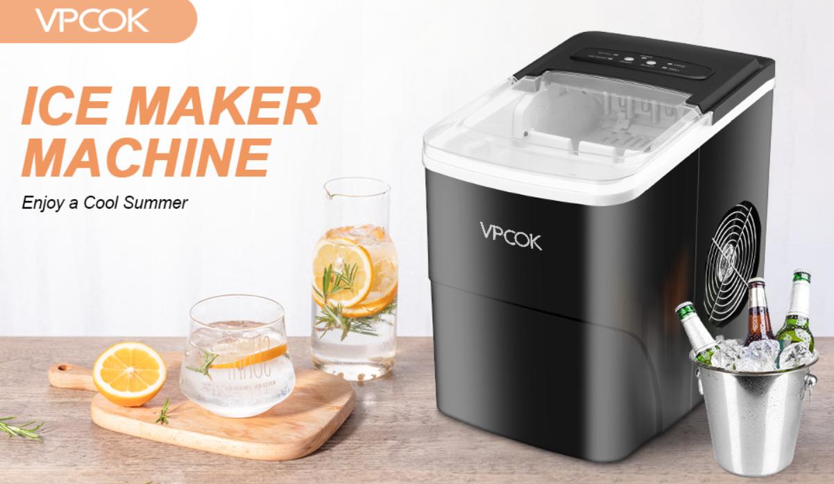 la mejor máquina de hielo portátil barata que también es doméstica para hacer cubitos de hielo en casa.