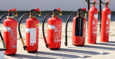 extintor para coche y furgoneta y caravana