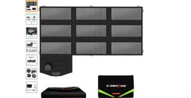 panel solar portatil